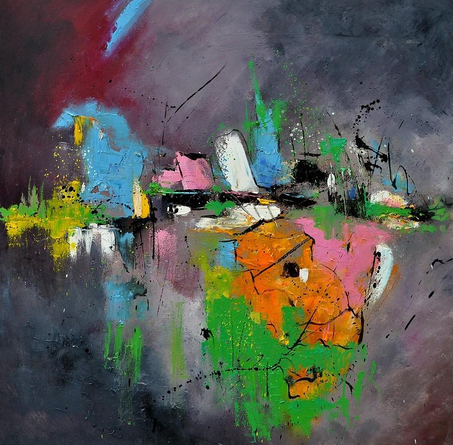 """abstract"" original fine art by Pol Ledent"