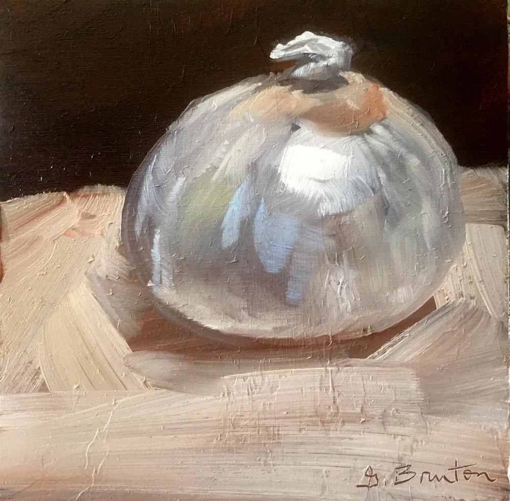 """Onion"" original fine art by Gary Bruton"