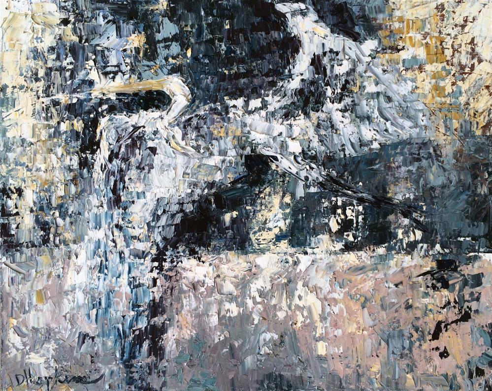 """""""Triumph"""" original fine art by Denise Hopkins"""