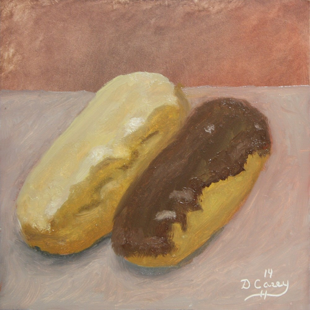 """Kitchen Painting - Donuts 006"" original fine art by Dave Casey"