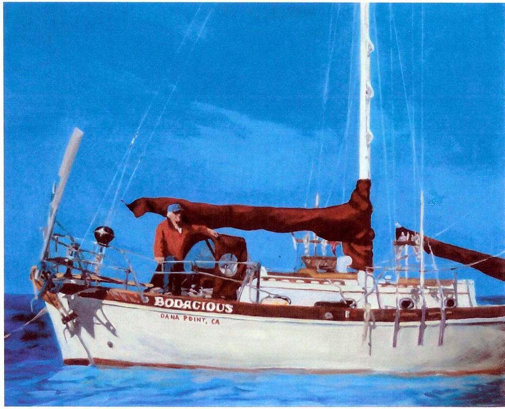 """Bodacious"" original fine art by Cietha Wilson"