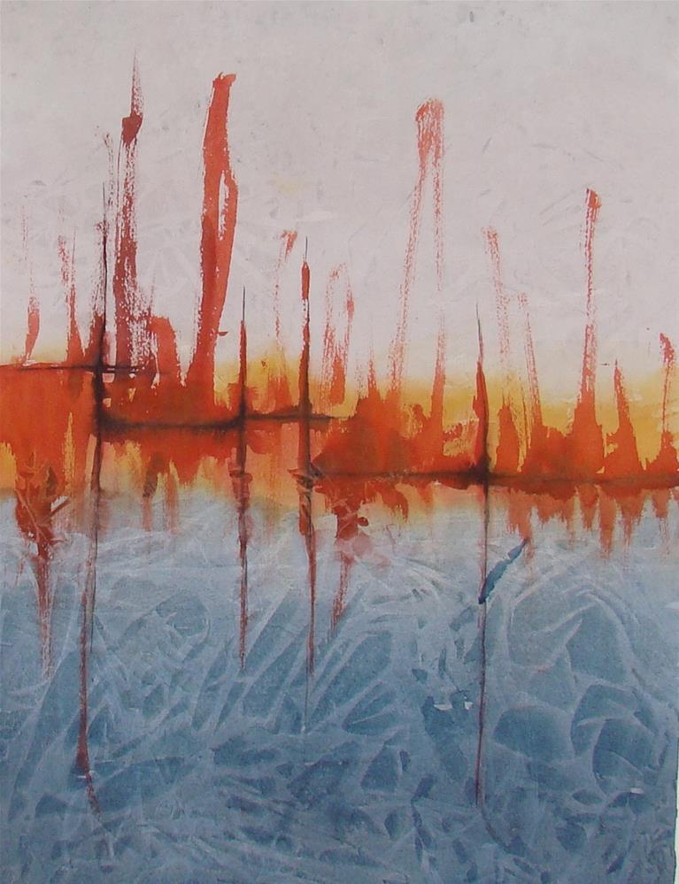 """""""Abyss"""" original fine art by Vito Cagnazzo"""