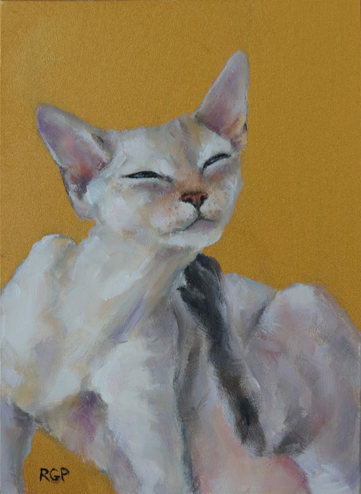 """""""Sweet Spot"""" original fine art by Rhea  Groepper Pettit"""