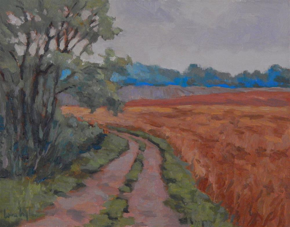 """""""Color in the Fields"""" original fine art by Lisa Kyle"""