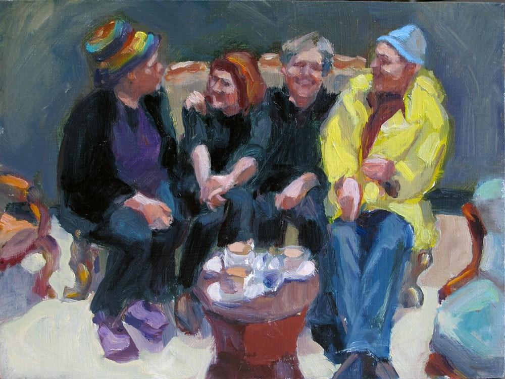 """Reunion"" original fine art by Myriam Kin-Yee"