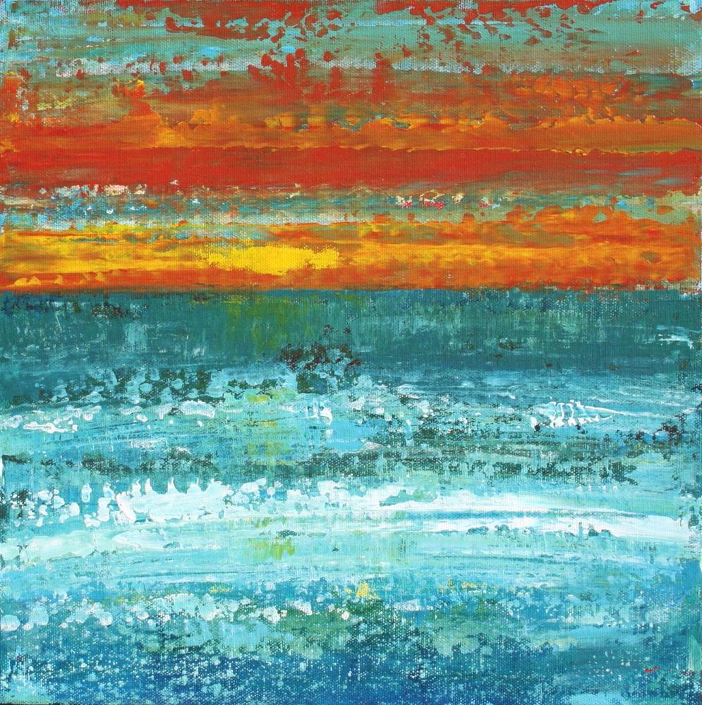 """Evening Sun"" original fine art by Sage Mountain"