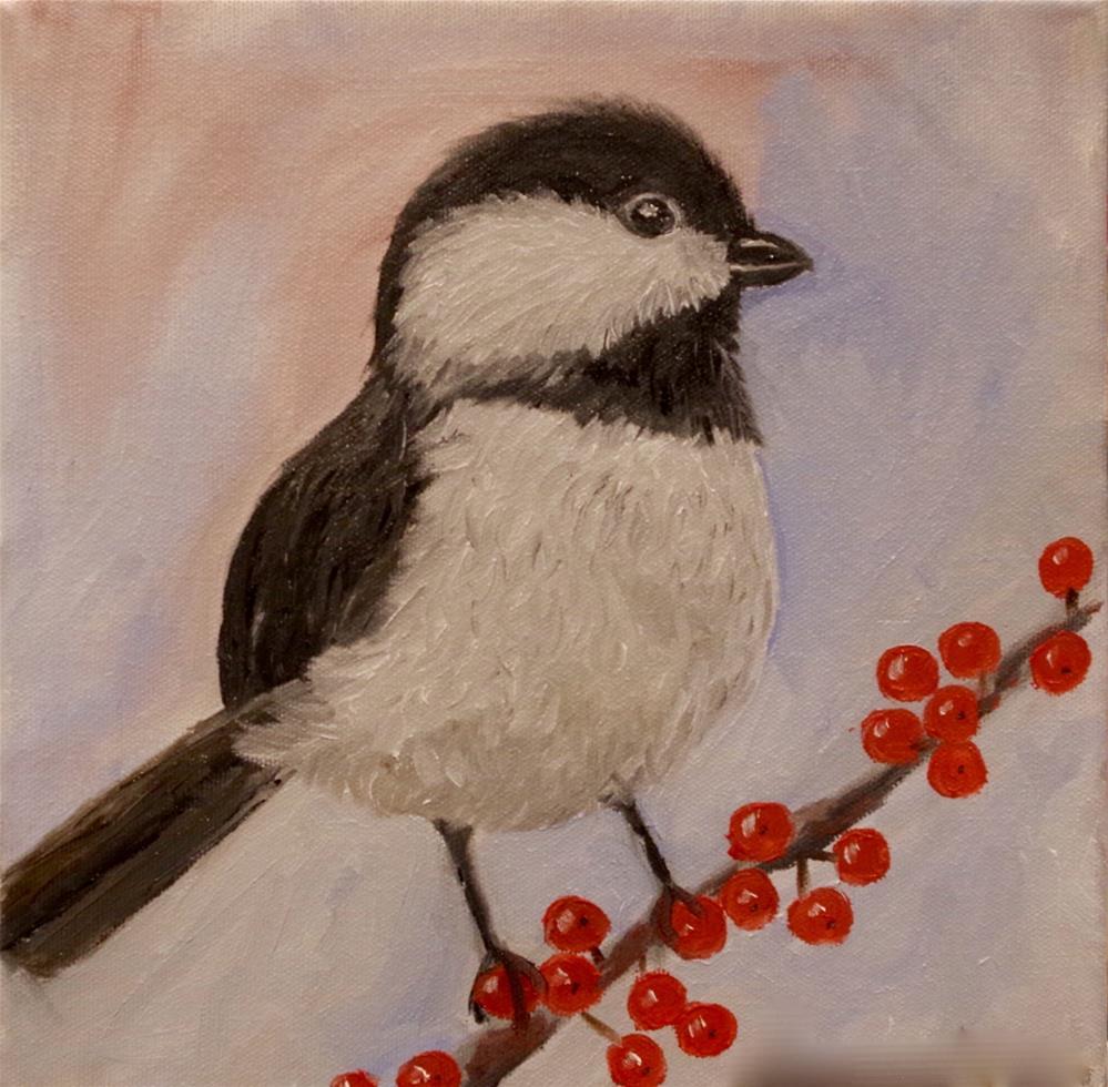 """Tuxedo Junction"" original fine art by Ann Cohen"