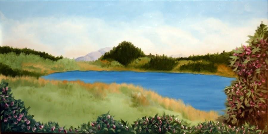 """Untitled Landscape Oil Painting by Northern California Artist Mark Webster"" original fine art by Mark Webster"