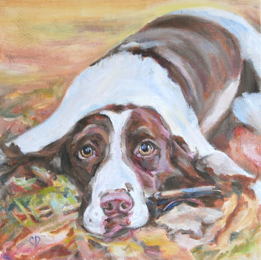 """Maggie"" original fine art by Carol DeMumbrum"