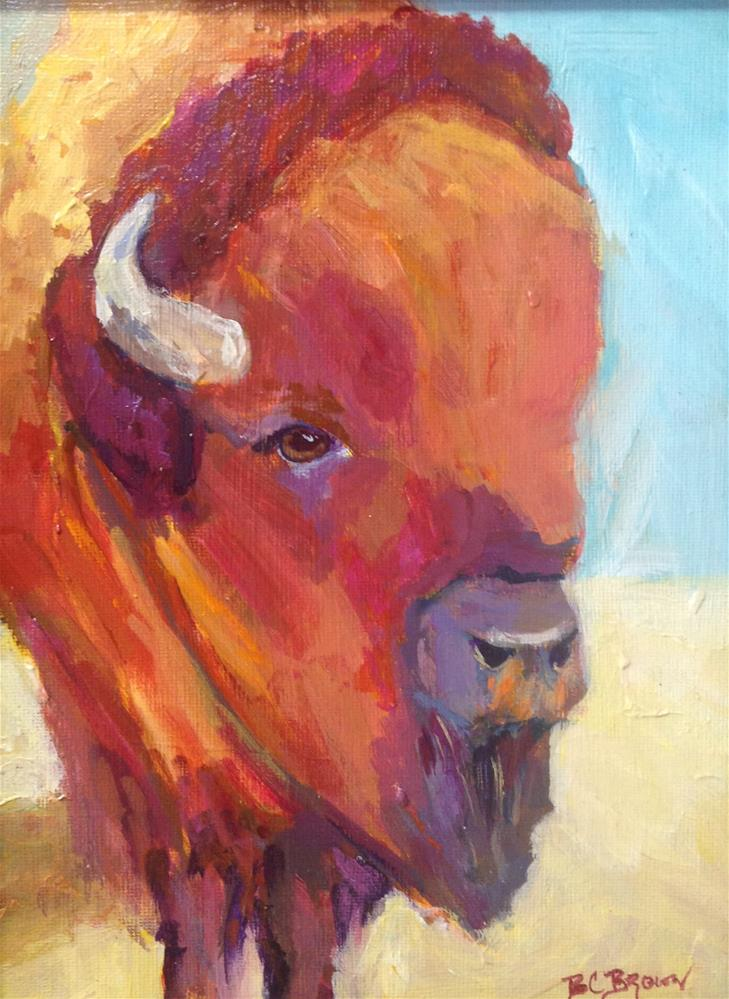 """Doc's Baby"" original fine art by Beth Carrington Brown"