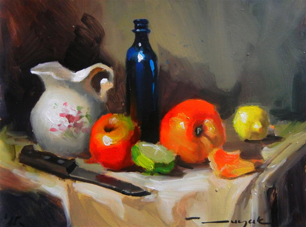 """Apples"" original fine art by Dragan Culjak"