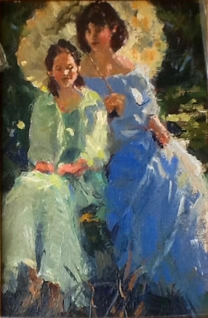 """Beautiful View"" original fine art by Marileigh Schulte"