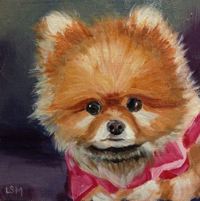 """""""Precious"""" original fine art by Linda Marino"""