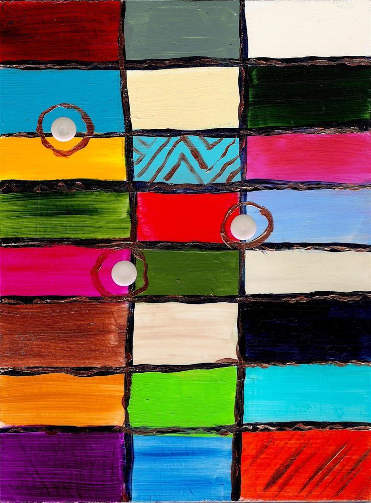 """3195 - Three Clicks - Windpower Series with mat"" original fine art by Sea Dean"