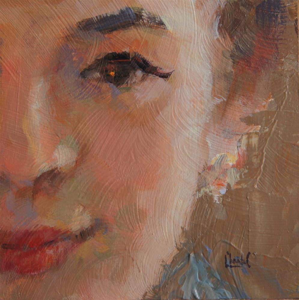"""Red Lipstick"" original fine art by Chantel Barber"