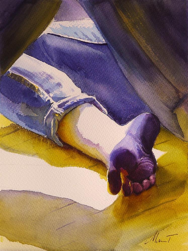 """foot"" original fine art by Beata Musial-Tomaszewska"