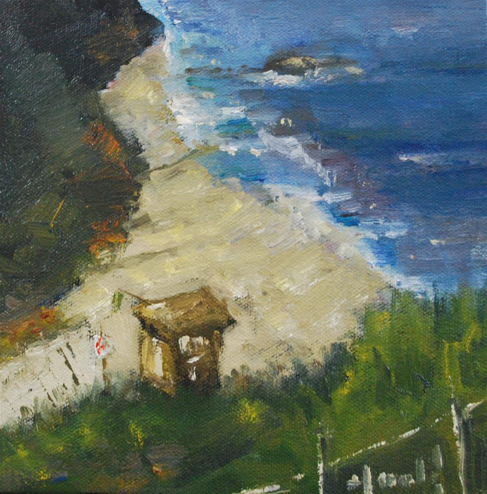 """Path To Little Corona"" original fine art by Deborah Harold"