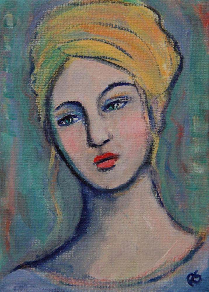 """""""Elinore"""" original fine art by Roberta Schmidt"""