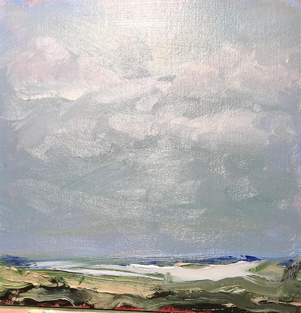 """By the Sea"" original fine art by Patty Barnes"