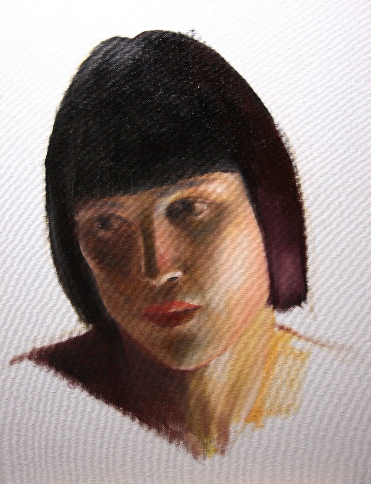 """Elektra"" original fine art by Jonathan Aller"
