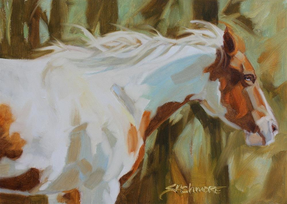 """''Among the Trees''"" original fine art by Susan Ashmore"