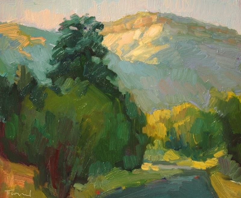 Utah Backroad original fine art by Kathryn Townsend