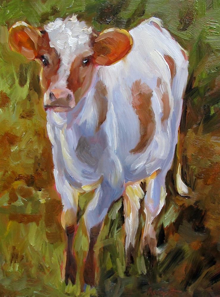"""Bess"" original fine art by Anne Marie Propst"