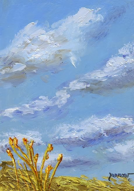 """Day 19 of Leslie Saeta's Challenge"" original fine art by Sue Furrow"