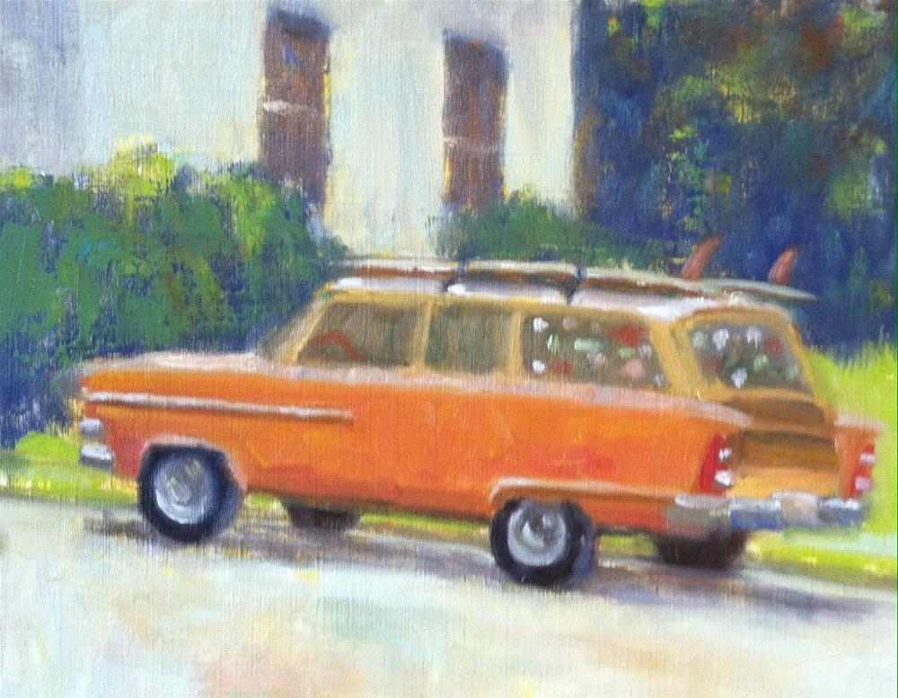 """Adventuremobile II"" original fine art by Katharine March"