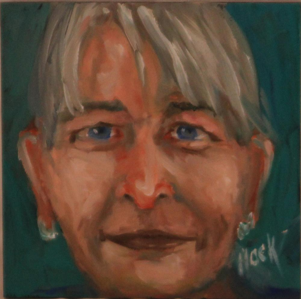 """""""Hilton Head Gang Week 13"""" original fine art by Maria Bennett Hock"""