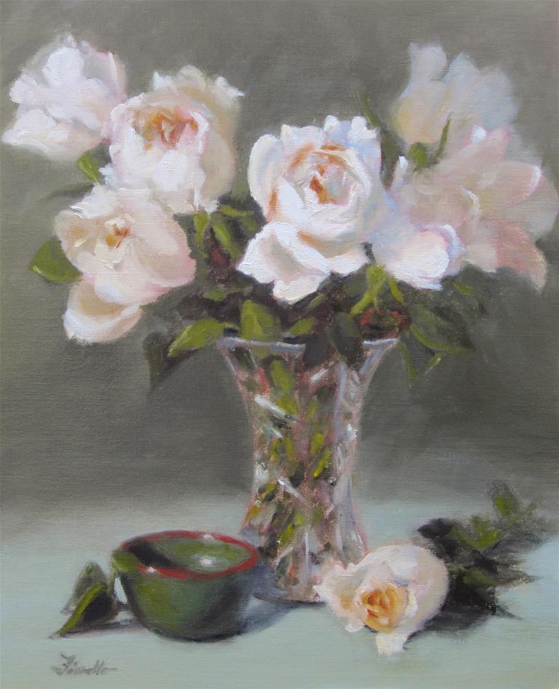"""""""Piaget Roses"""" original fine art by Pat Fiorello"""