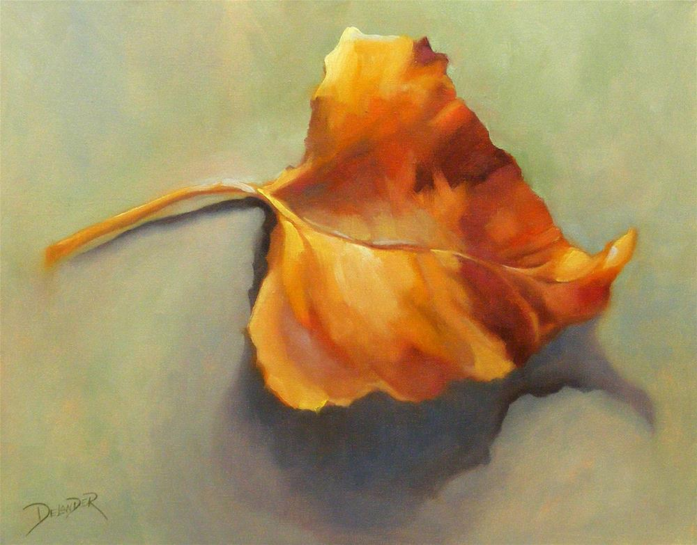"""Fresh Fall'n"" original fine art by Diana Delander"