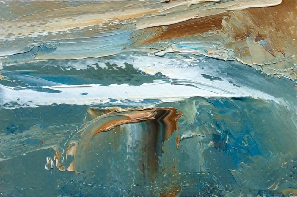"""Shoreline"" original fine art by Anne Wood"