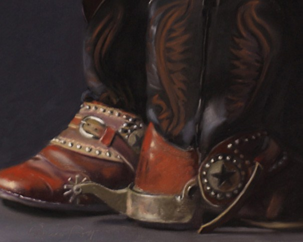 """Best Pair Yet"" original fine art by Pamela Poll"