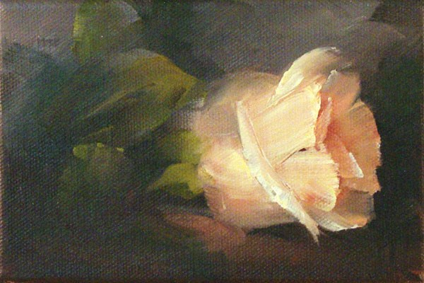 """""""Rose"""" original fine art by Lori Twiggs"""