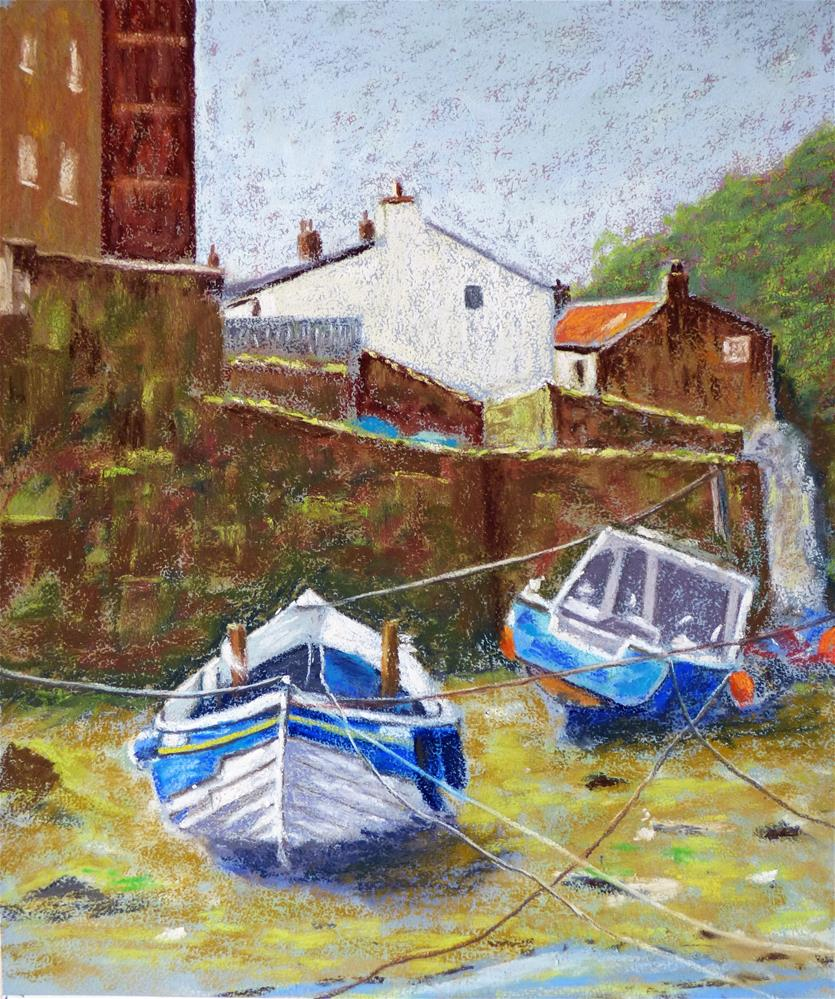 """Staithes"" original fine art by James Humphreys"