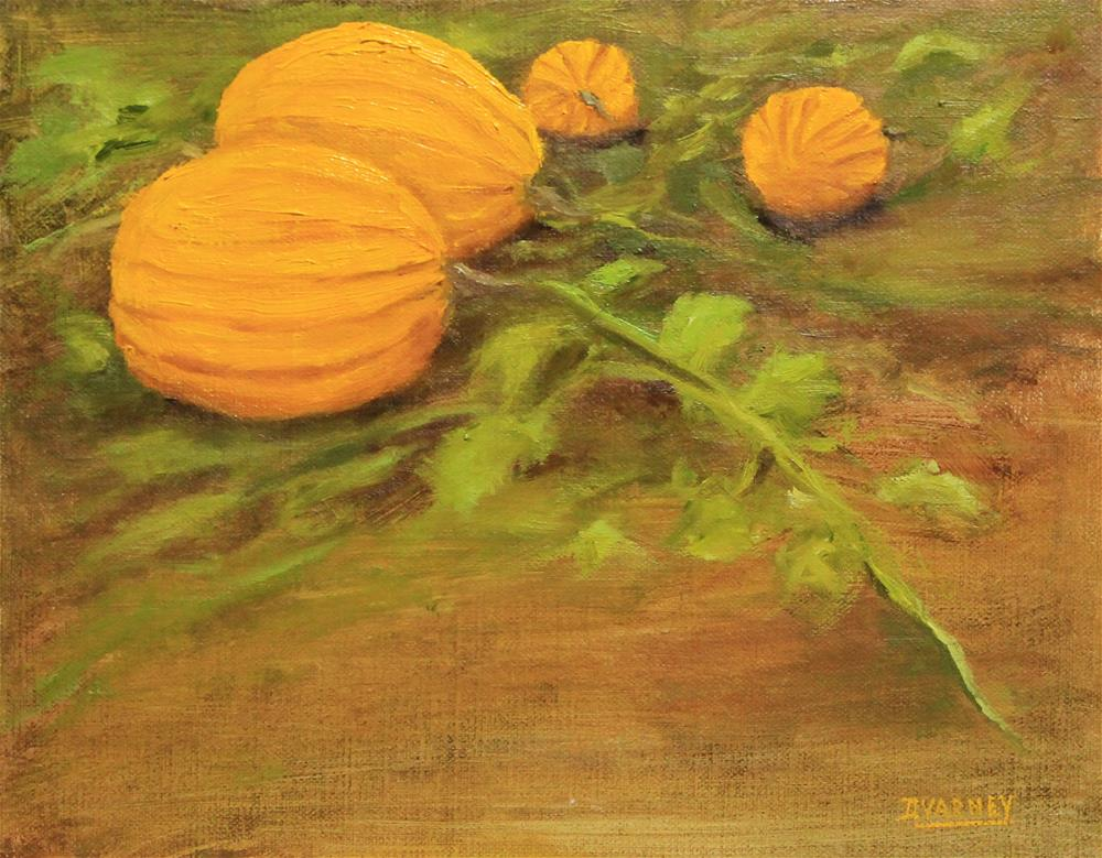 """Pumpkin Patch "" original fine art by Daniel Varney"