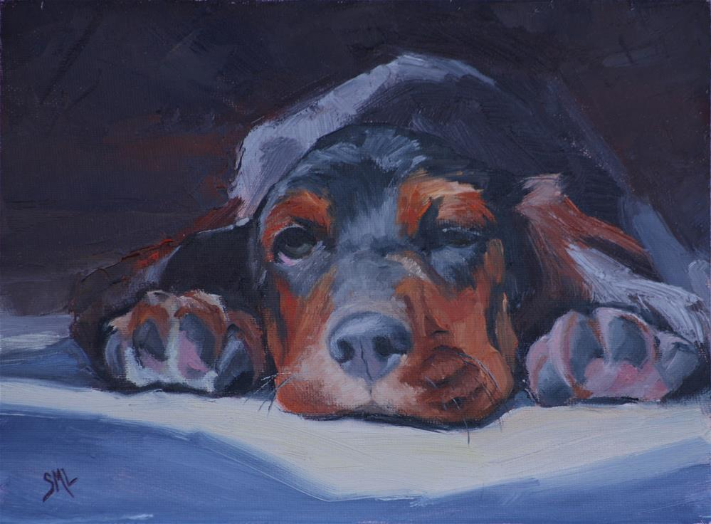"""Gus"" original fine art by Sheila Marie"