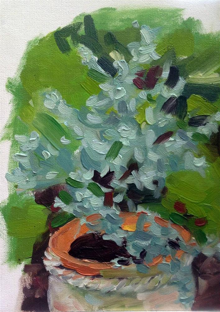 """Eucalyptus (2014)"" original fine art by Paula Howson-Green"