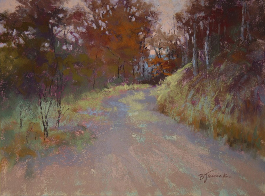 """Rounding the Bend"" original fine art by Barbara Jaenicke"