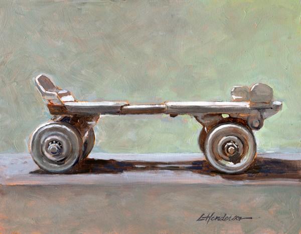 """Skate"" original fine art by Lael Henderson"
