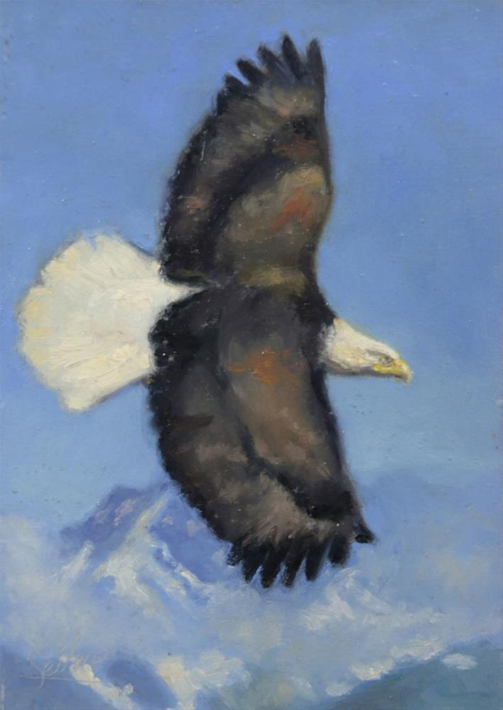 """Soaring High"" original fine art by Larry Seiler"
