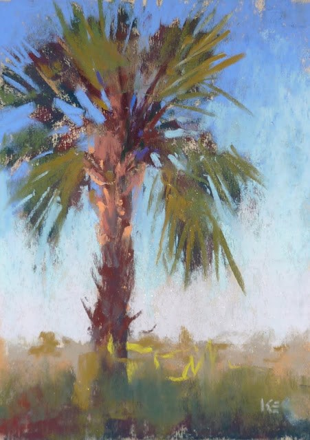 """A Simple but Important Plein Air Lesson"" original fine art by Karen Margulis"