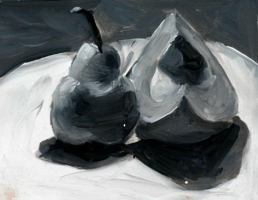 """Value Study"" original fine art by Kristen Dukat"
