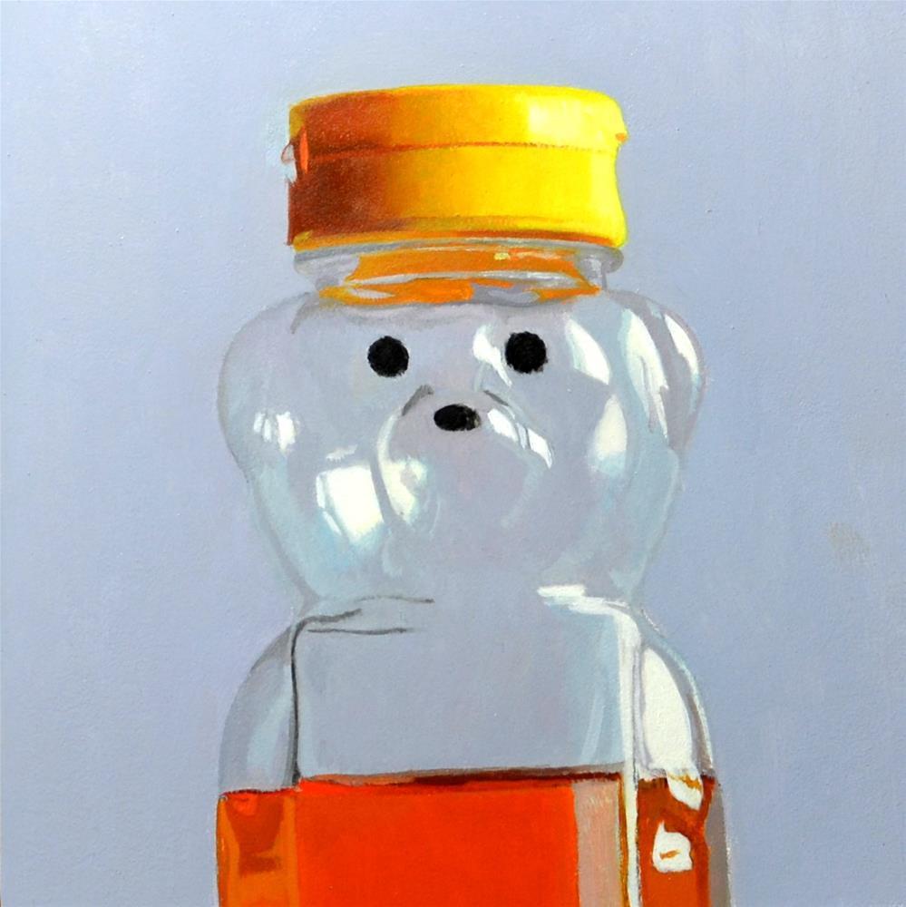"""Honey Bear"" original fine art by Brian Burt"