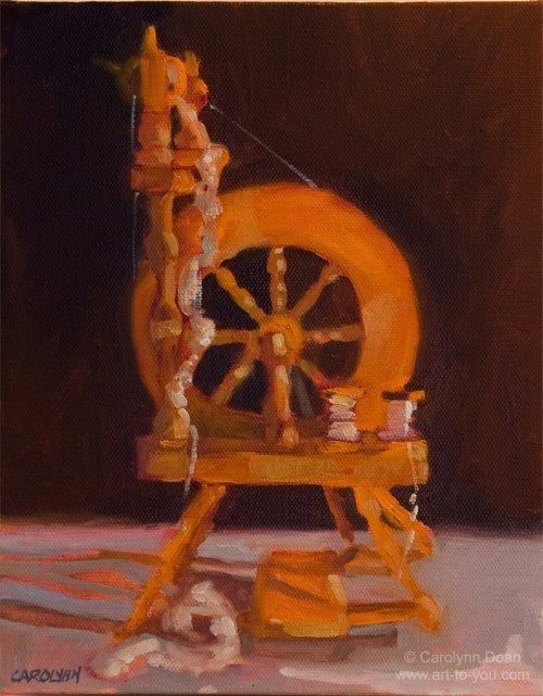 """Stress Reliever"" original fine art by Carolynn Doan"