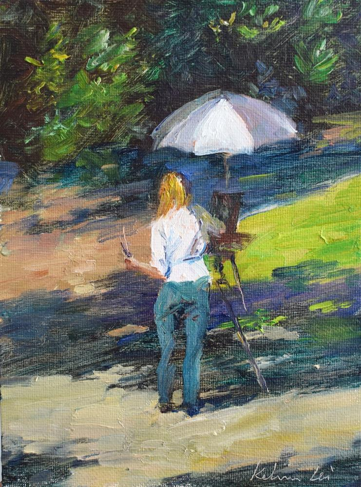 """Plein Air"" original fine art by Kelvin Lei"