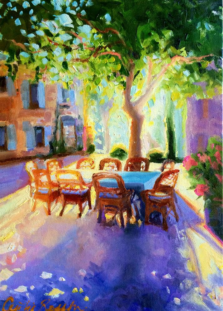 """PROVENCE"" original fine art by Cecilia Rosslee"
