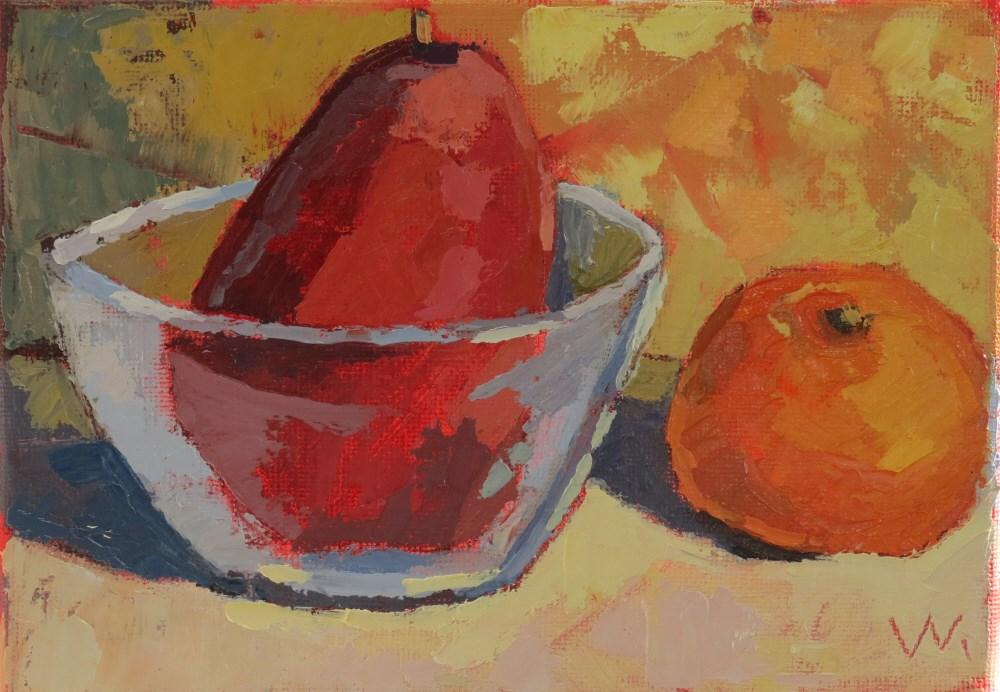 """""""Waterford Pair"""" original fine art by Joan Wiberg"""