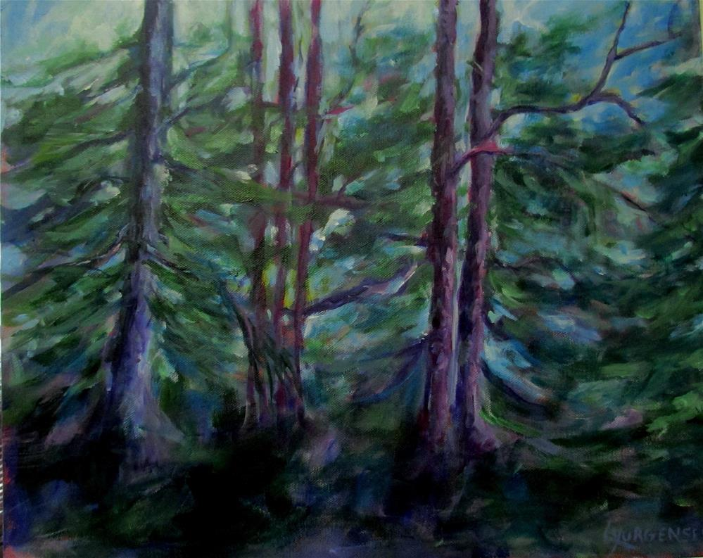 """16 x20 inch acrylic"" original fine art by Linda Yurgensen"